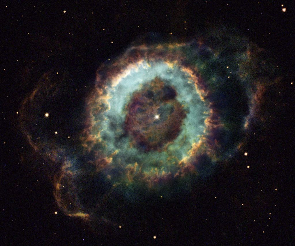 NGC 6369 (the Little Ghost Nebula)